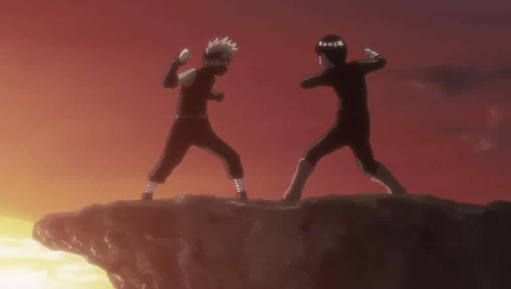 episodio Kakashi, Meu Eterno Rival em filler de naruto shippuden