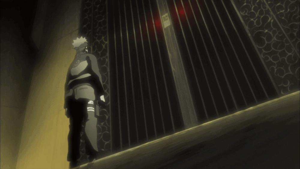 naruto no portão da kyuubi