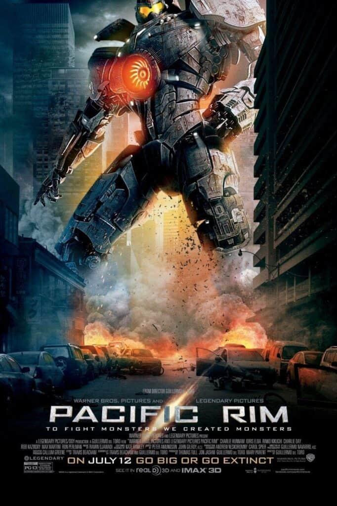 poster oficial do filme Pacific Rim