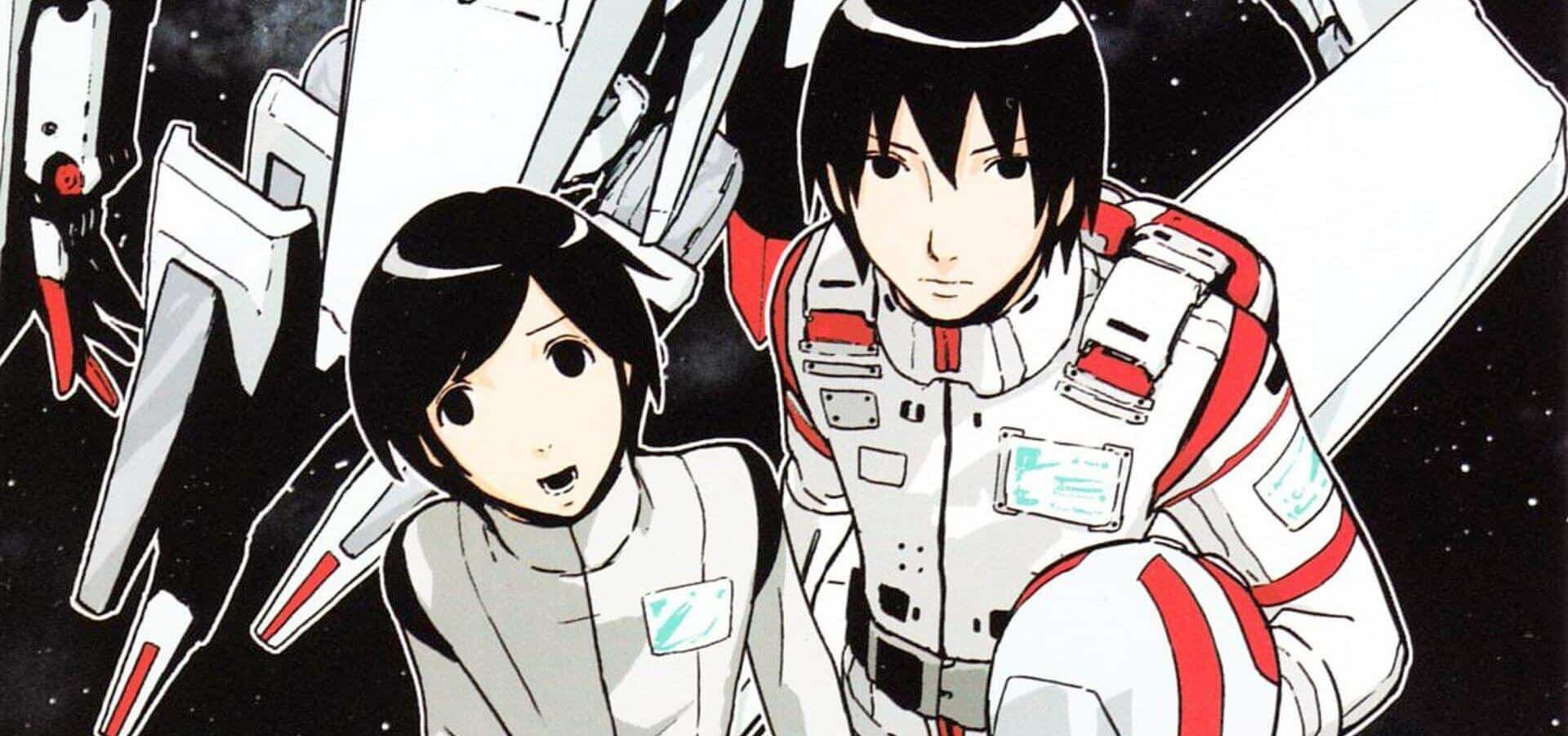 Knights of Sidonia - os protagonistas Izana e Nagate lado a lado