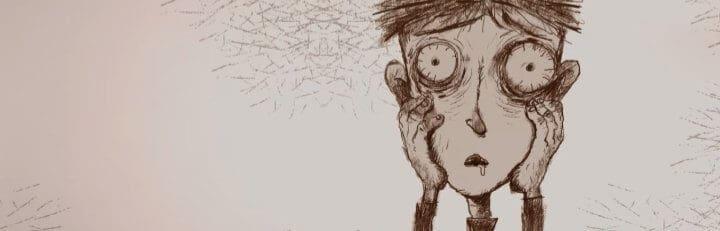 Ilustração do livro O Menino que se Alimentava de Pesadelos