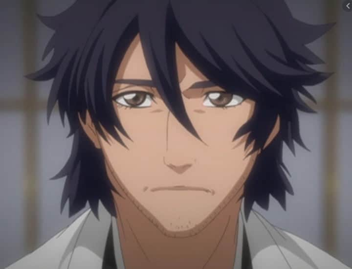O Novo Capitão Amagai Shūsuke de bleach