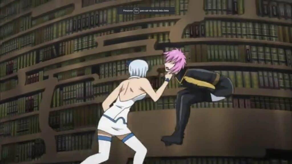 Yukino lutando X Virgo