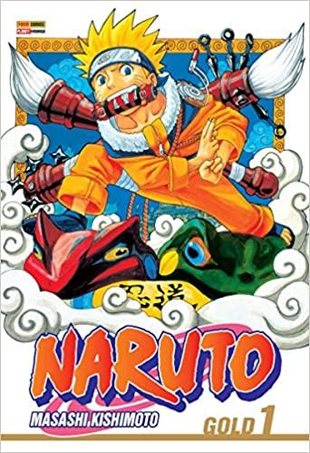 capa do mangá de Naruto volume 1 na amazon