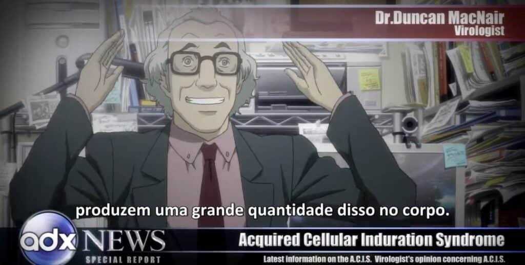 noticiários sobre a doença medusa