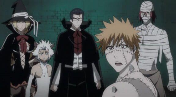 personagens de bleach fantasiados para filler