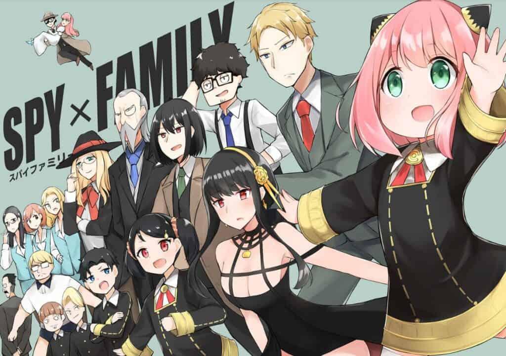 personagens do mangá spy x family