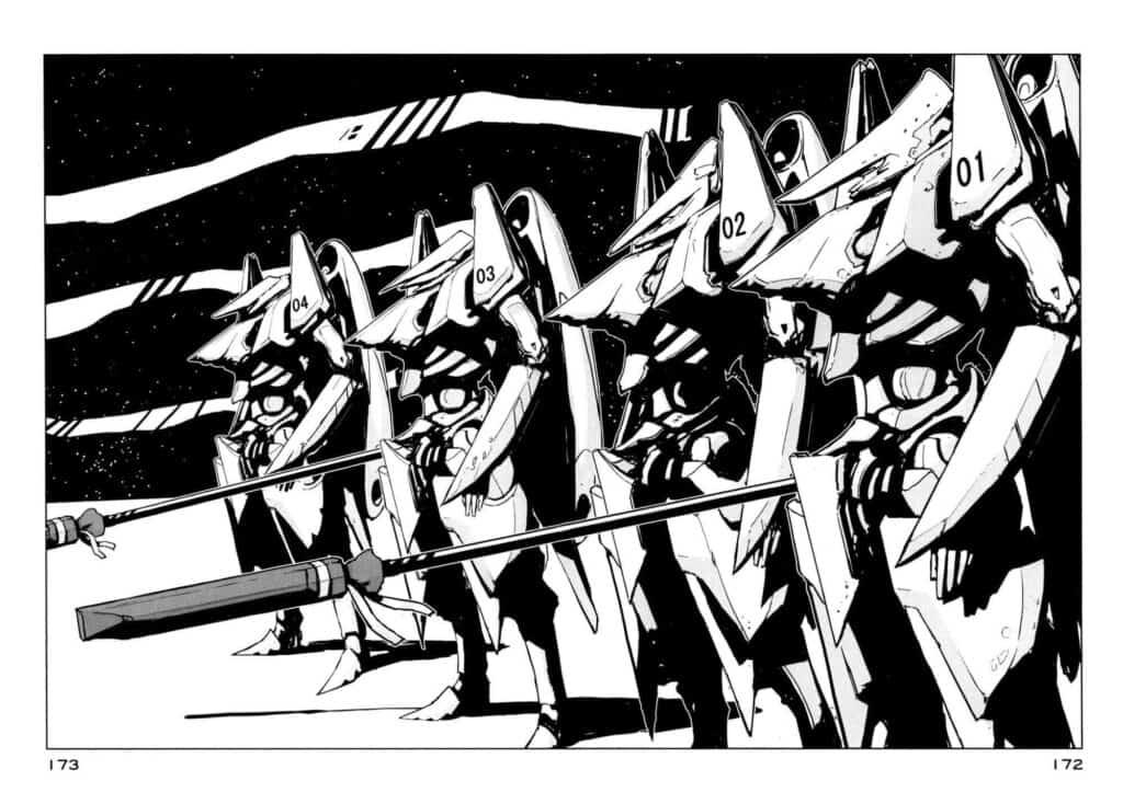 Knights of Sidonia - Os Guardians de Sidonia, a única defesa na luta contra os Gauna