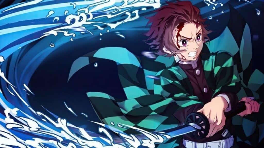 tanjiro, personagem de kimetsu no yaiba