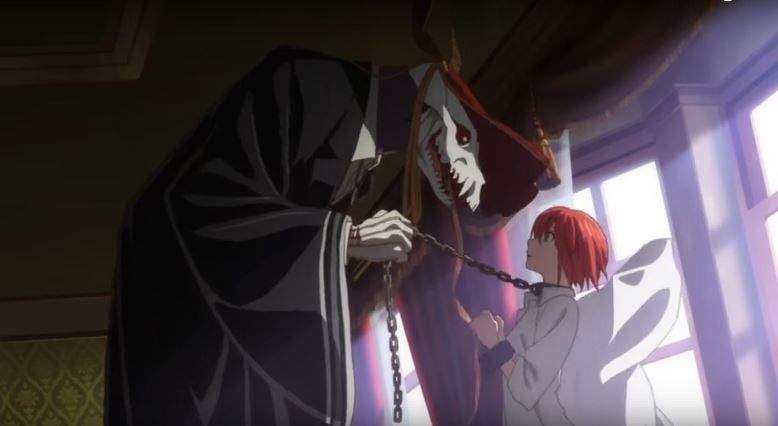 elias e chise, o casal não convencional do anime