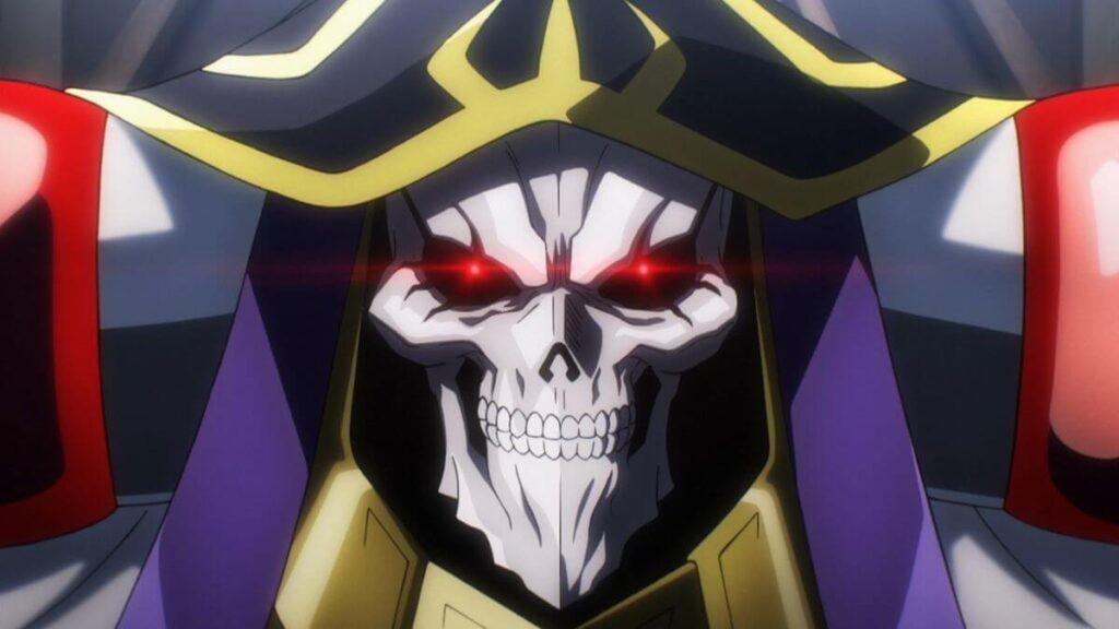 Protagonista Ainz de Overlord