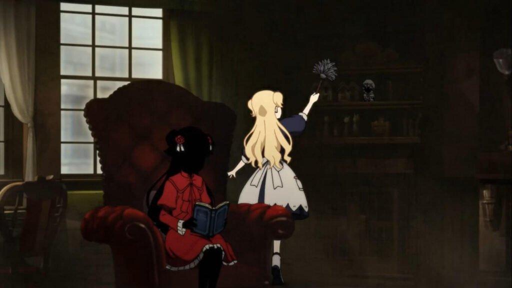 Emilico e Kate em Shadows House