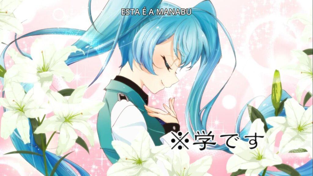 Manabu Soutoin disfarçado de Garota (Hatsune Miku)