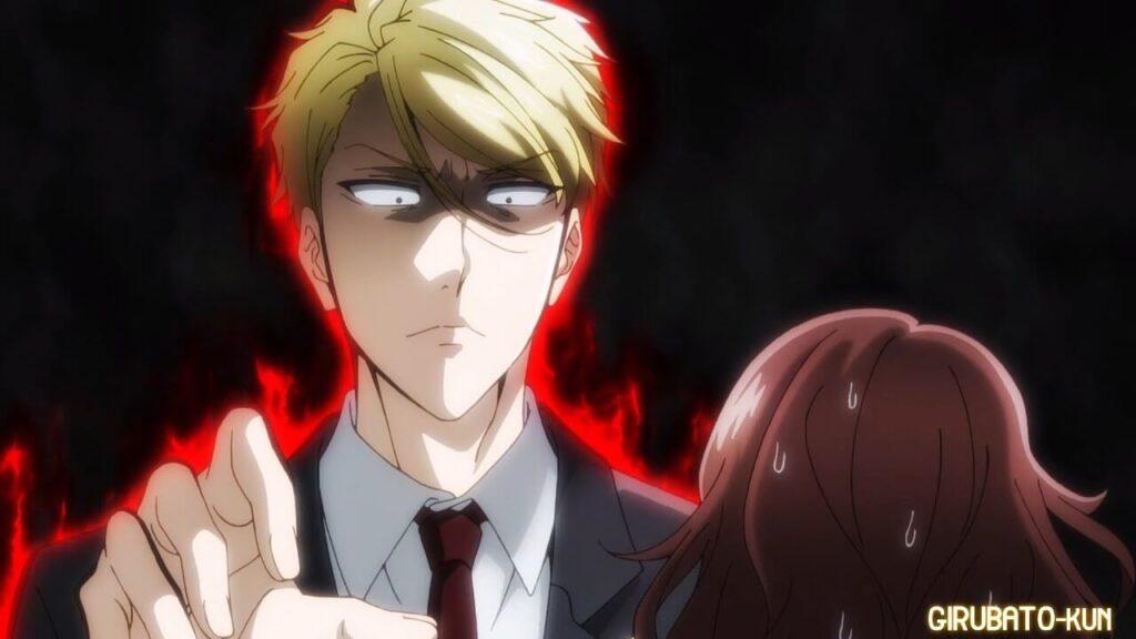 Ryou muito bravo com uma personagem que ofendeu seu amor