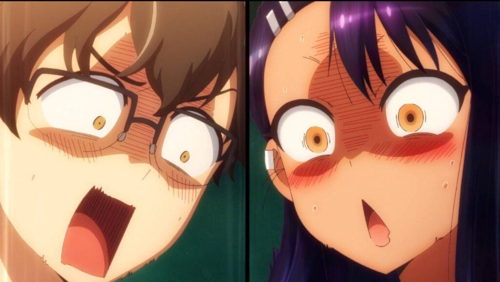 Personagens chocados com o que acabou de acontecer