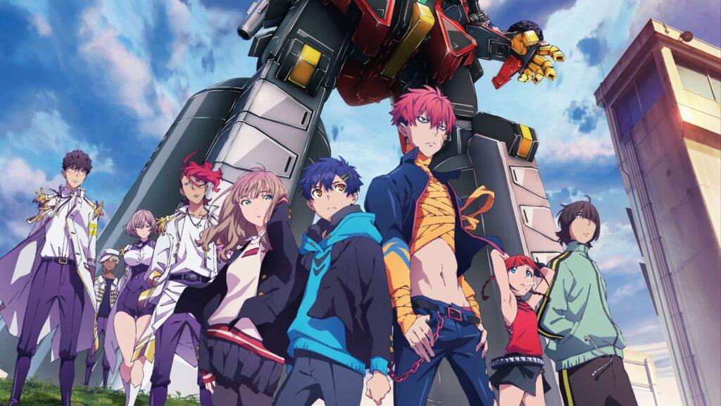 a história do anime