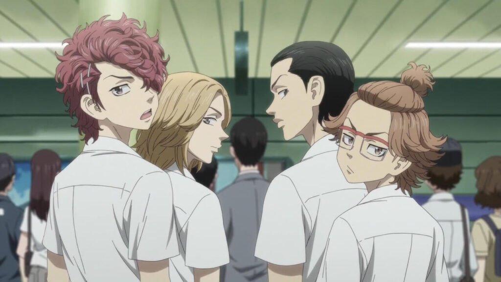 Amigos dos tempos de escola de Takemichi em Tokyo Revengers