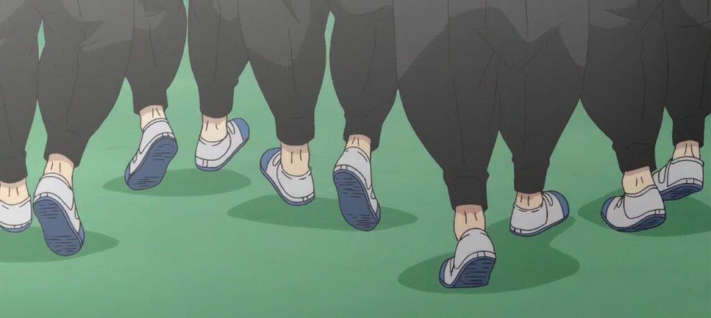 Amigos de Takemichi caminhando juntos