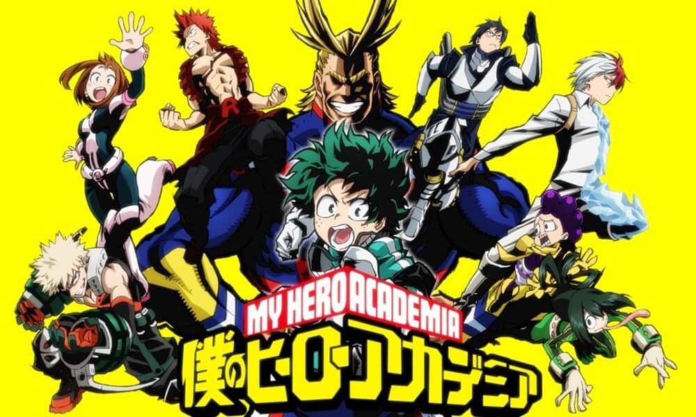 Imagem de capa de My Hero Academia