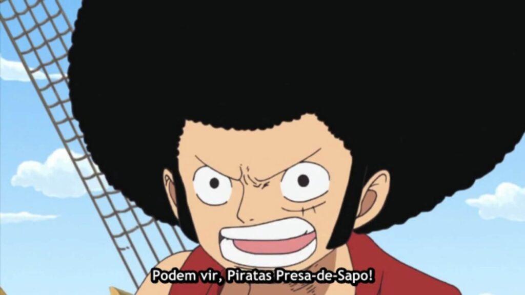 Luffy afro volta
