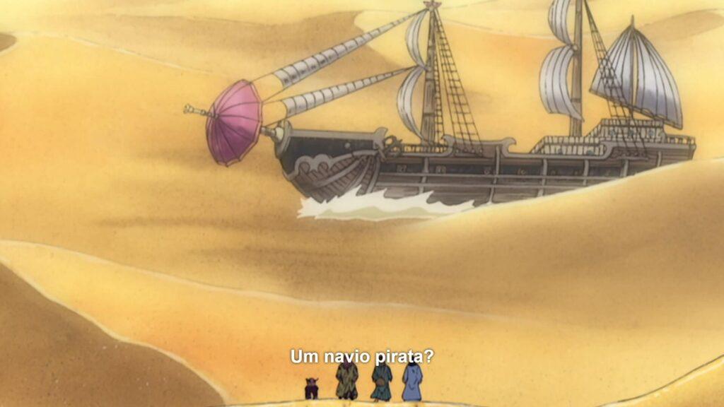 O navio pirata barbar