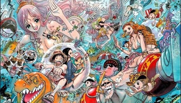 Saga Ilha dos Homens-Peixe one piece