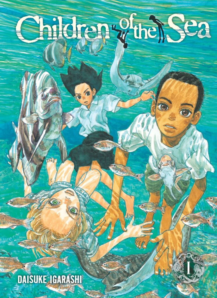 capa do mangá children of the sea