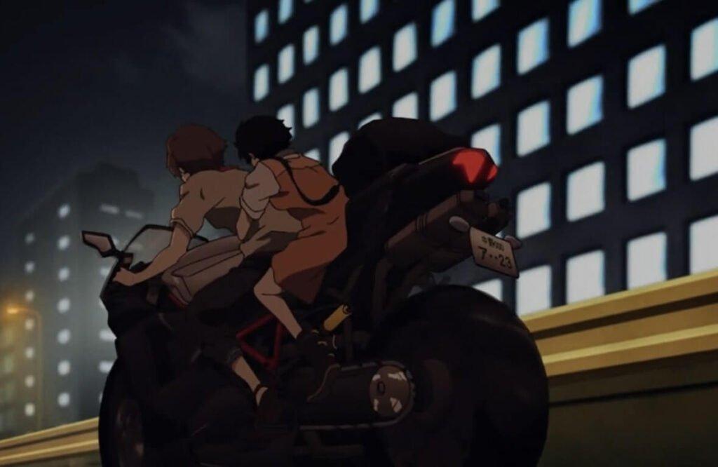 cena da moto com Lisa e Twelve