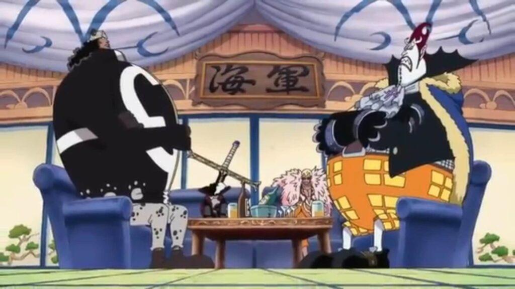 os Shichibukais que vão participar da guerra