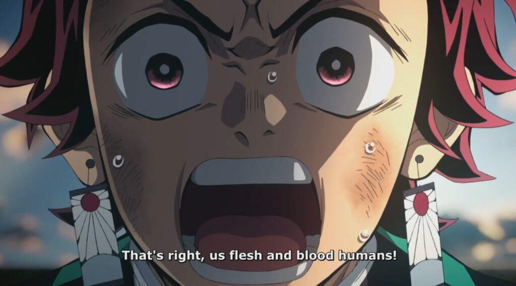 tanjiro falando 2