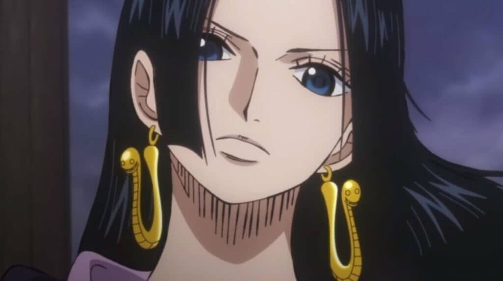 Boa Hancock personagem feminina do anime One Piece