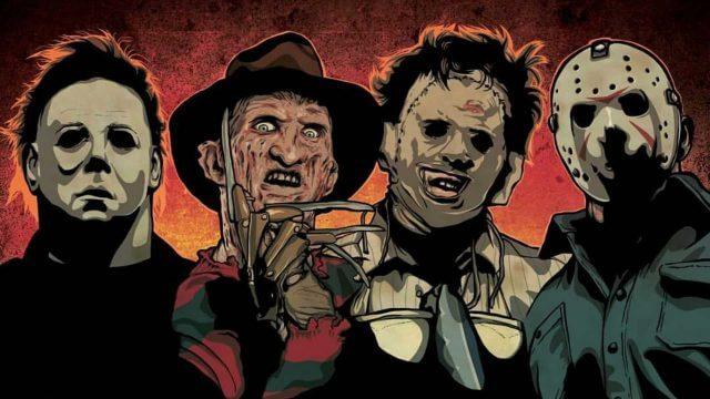 Personagens icônicos de filmes de terror