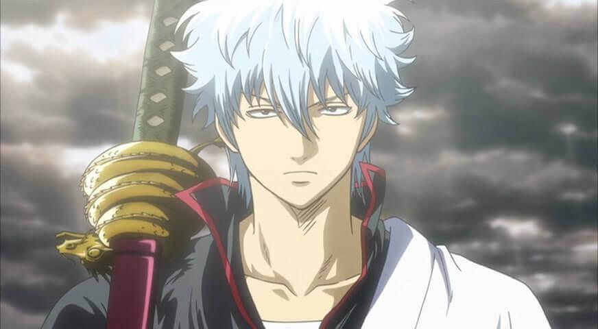 Gintoki Sakata personagem do anime Gintama