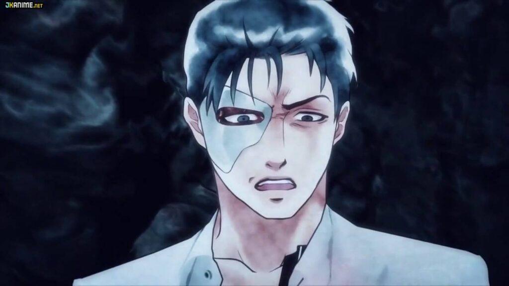 Capa Kagewani anime de terror