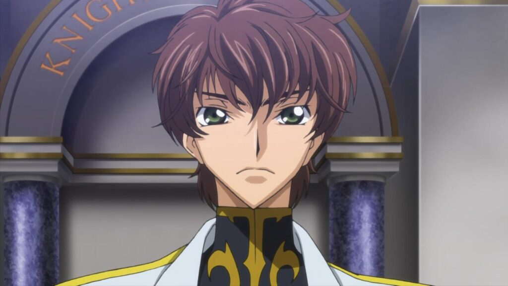 Kururugi Suzaku personagem do anime Code Geass