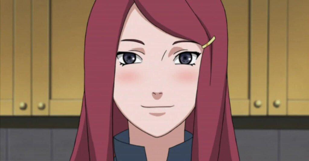 Kushina Uzumaki personagem feminina de Naruto