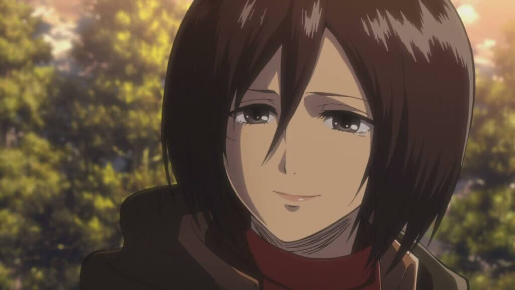 Mikasa Ackerman personagem feminina de Shingeki no Kyojin