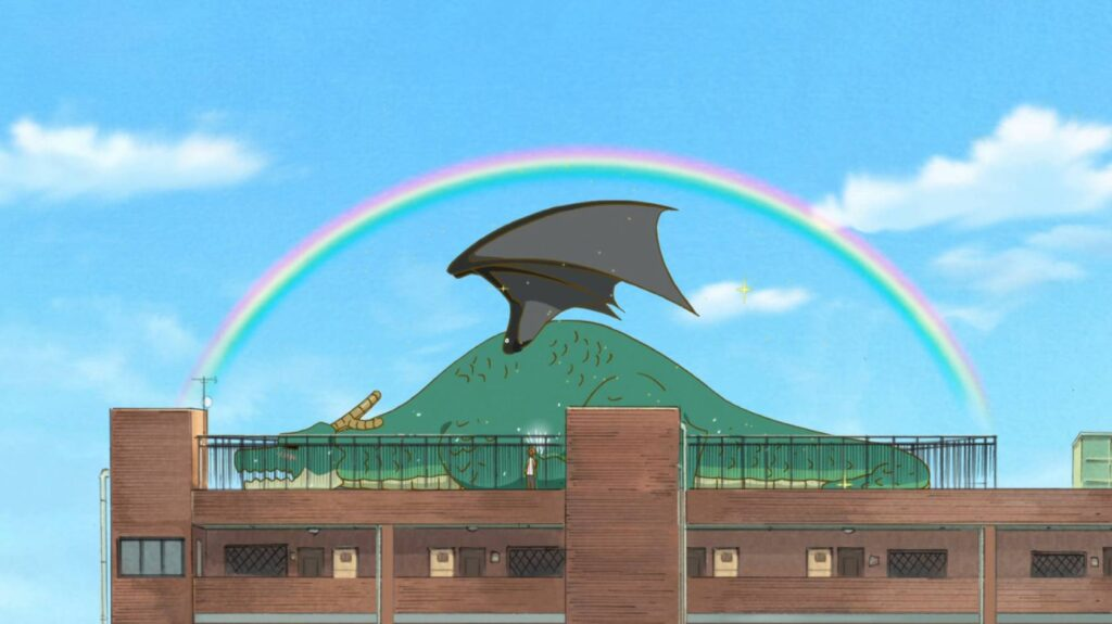 Dando um banho na Tohru Kobayashi-san Chi no Maid Dragon