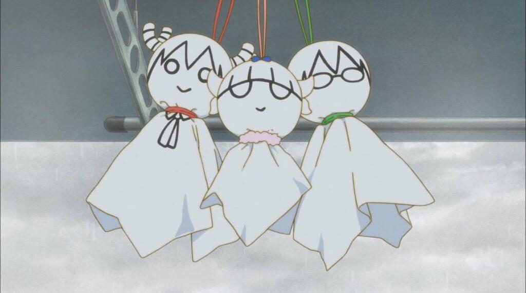 Bonequinhos das três personagens, Kobayashi-san Chi no Maid Dragon