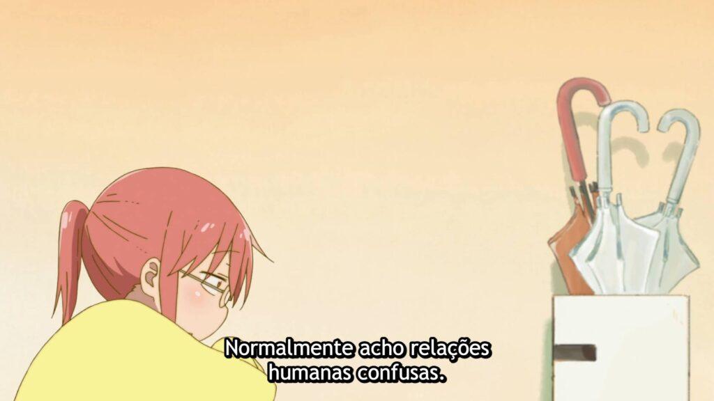 Kobayashi reconhecendo a solidão, Kobayashi-san Chi no Maid Dragon