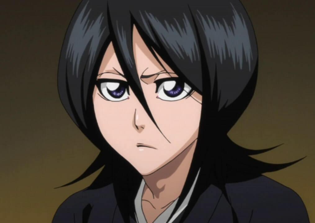 Rukia Kuchiki personagem feminina de Bleach