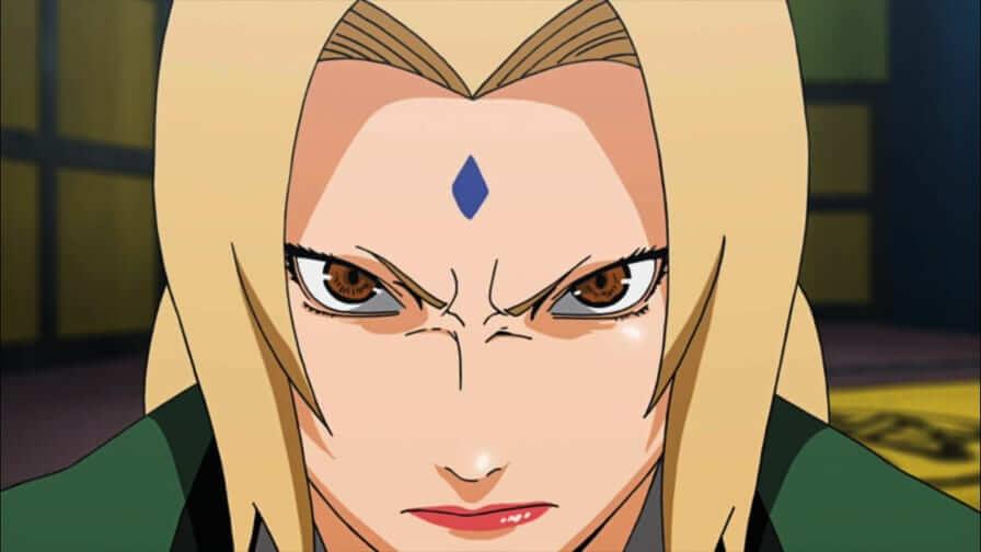 Tsunade personagem de Naruto