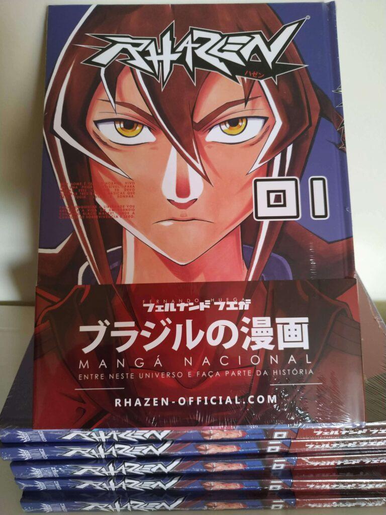 volume 1 de rhazen ainda plastificado