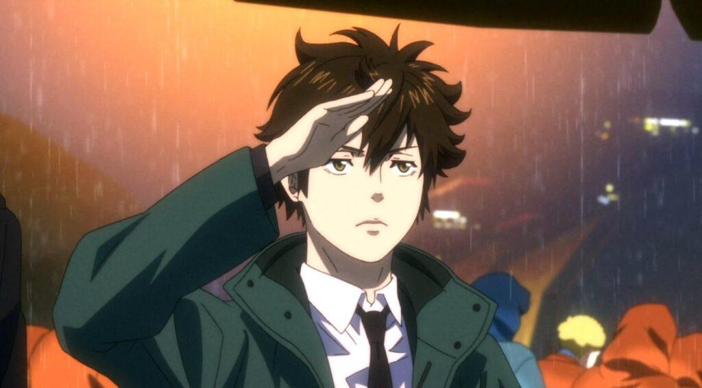 Shindo Arata, personagem da terceira temporada de psycho-pass