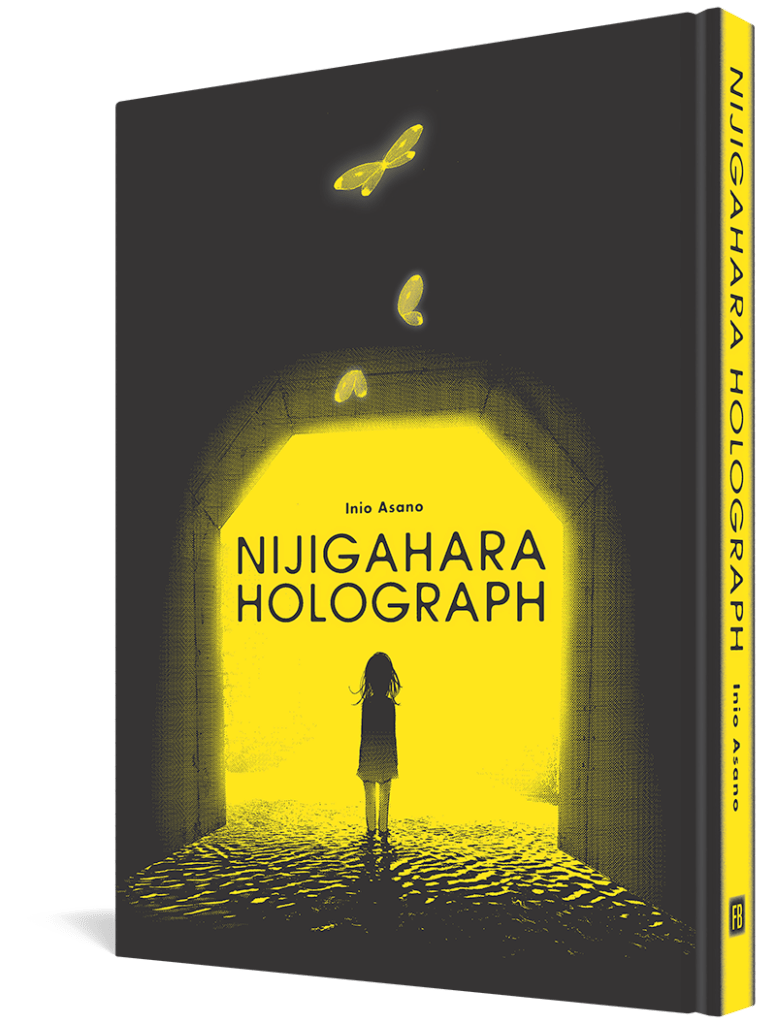 capa do mangá nijigahara holograph