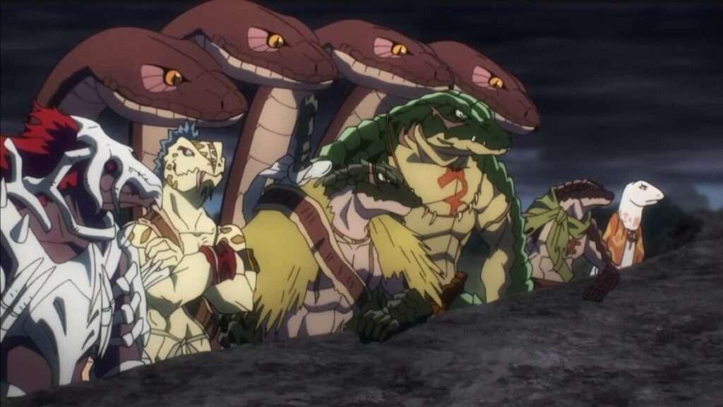 lagartos de overlord segunda temporada