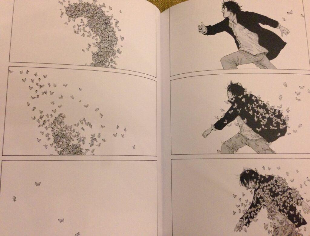 o surto das borboletas em nijigahara holograph