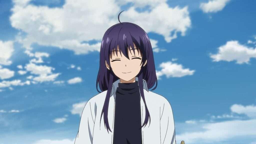 Imagem de Mikoto sorrindo tranquilo