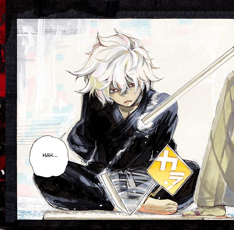 protagonista do mangá Hell's Paradise: Jigokuraku