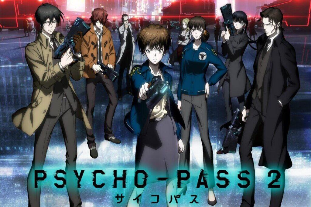Imagem da segunda temporada do anime de Psycho-pass